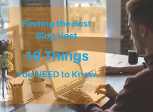 Finding the Best Web Host