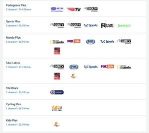 fuboTV add-ons