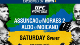 watch ufc fight night assuncao vs moraes 2 online